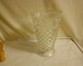 Wexford Large Vase by Anchor Hocking