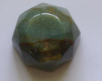 green jasper paper weight