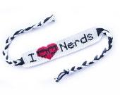 I Love Nerds Friendship Bracelet