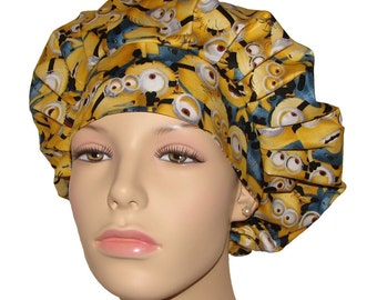 Scrub Hats - Minions Fabric