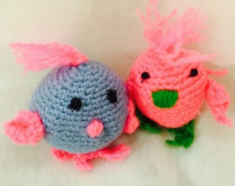 Easter Crochet Amigurami Chicken Stuff Animal Crip Toy Newborn Toy