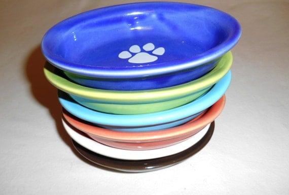 Caramic Cat Food Bowl