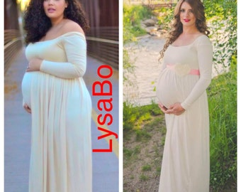 Sale!!! 30% Off/ Maternity Dresses / long maxi/ baby doll maternity / BabyShower Dress / maternity photoshoot/ Gender Reveal/ Maternity Gown