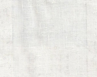 OYSTER WHITE LINEN drapery  upholstery fabric by the yard  home decor 11-76-01-0815