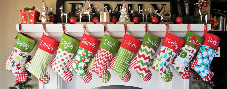 filename - Custom Christmas Stockings