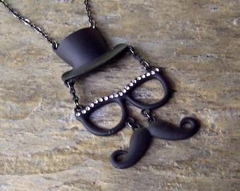 Mustache Necklace Mustache Jewelry Novelty Friend Gift