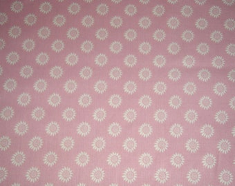 Sale Pink Better Gnomes and Gardens  fat quarter, 1/2 yard or by the yard  From In The Beginning Fabrics apparel quilt cotton fabric