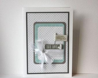 Engagement Wedding Handmade Card
