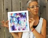 Fine Art Giclee Rainbow Reproduction Print