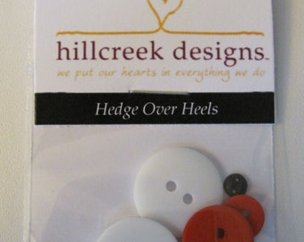 Hedge Over Heels Button Pack from Hillcreek Designs B314-QDD