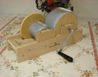 """Baby Brother 4"""" Drum Carder With Doffer & Packer Brush Little Cutie! With 5.00 Instant Shop Coupon"""