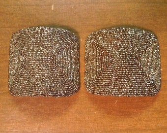 Vintage 1940's Shoe Clips  Made In France
