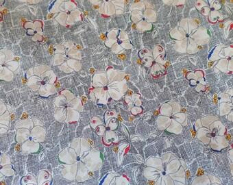 Liberty of London Art Fabrics Tana Lawn Cotton Heidi Retro Floral