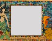 Mosaic Mermaid Mirror