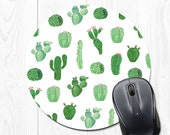 Mousepad Mouse pad Succulent Cactus Mouse Pad Cubicle Decoration Office Desk Decoration Office Accessories Office Decor Mouse Mat - Cco