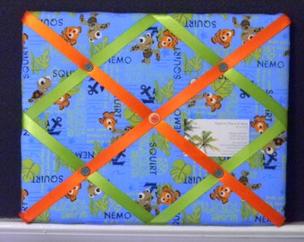 11 x 14 Disney Finding Nemo Wave Riding Blue Memory Board