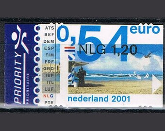 50 Postage Stamps Beach Holland - The Netherlands