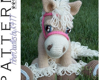 INSTANT DOWNLOAD : Pastiche the Palomino Crochet Pattern