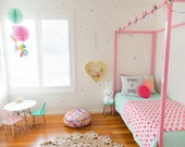 Vinyl Wall Sticker Decal Art - Mini Pastel Confetti Dots