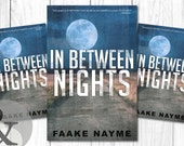 "Premade Digital Book eBook Cover Design ""In Between Nights"" Literary Fiction Thriller Suspense Apocalypse"