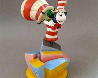 Cat in the Hat with Balloon Music Box Dr. Seuss & Jim Henson