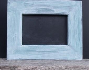 Framed Distressed Chalkboard