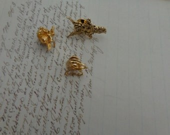 SALE Lot of tack pins two angel and a butterfly -  vintage- for use or supply