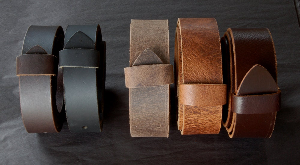 guys 1 5 interchangeable mahogany leather belt with snaps