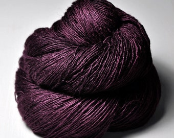 Tangled web of hope - Tussah Silk Lace Yarn