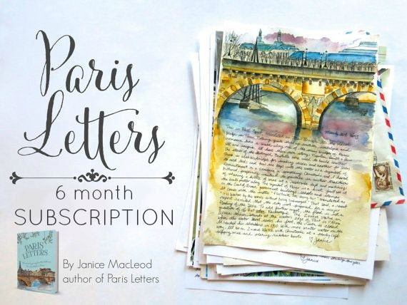 PARIS LETTERS: 6 month subscription