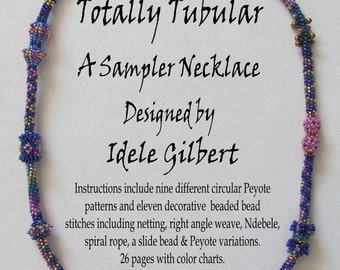 Totally Tubular Beaded Sampler Necklace