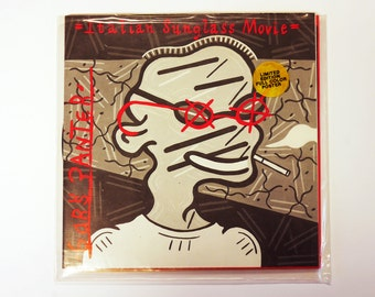 """Gary Panter - Italian Sunglass Movie - Tornadoe to the Tater 7"""" - with Poster"""