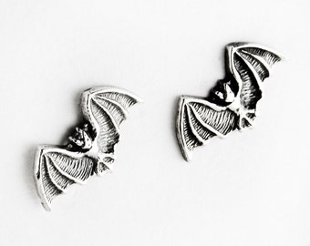 Big Bad Bat Sterling Silver Post Earrings