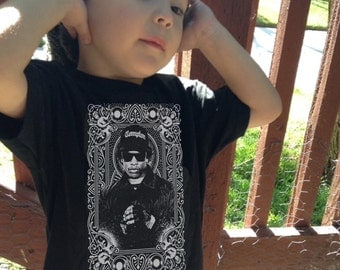 Eazy E One Piece or Toddler Tribute shirt - Free Shipping!