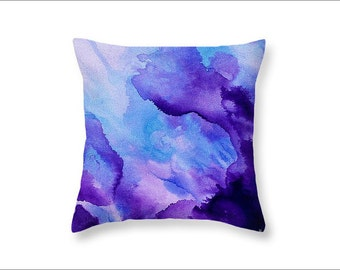 Decorative pillow cover throw pillow purple pillow art pillow cushion home decor