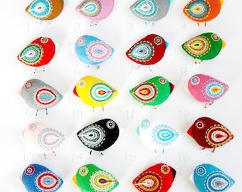 50 felt bird ornament wholesale