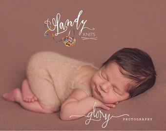 Newborn romper, newborn photo prop, baby photo prop, baby romper, baby girl, baby boy, baby shower gift, new baby gift, infant romper, prop