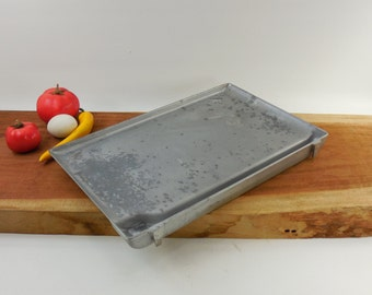 1960s Sears Kenmore Appliance Used Replacement Part - Rotisserie Oven Broiler Grill - Aluminum Griddle Insert