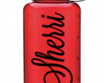 RED-Custom Water Bottle