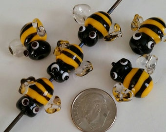 Bee Bee'd Glass Mini Bee - Glass Bee