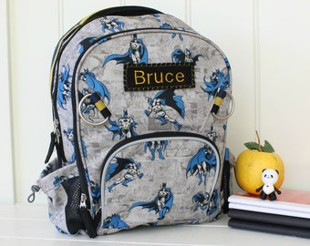 Small Allover Batman Backpack Pottery Barn (Small Size)