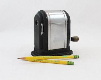 "Mid Century Boston Ranger Pencil Sharpener ""Industrial Age Beauty"""