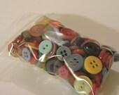 Rainbow Bargain Bag O Buttons