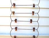Vintage Clip Hangers - Shabby Patina - Photo hangers