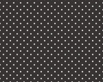 Black Swiss Dot Riley Blake 1 Yard