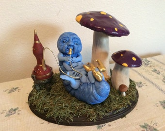 Alice in Wonderland Epsilon Catapiller Art Doll