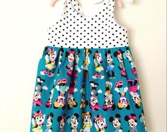 Baby, Toddler, Girls Knot Dress - Fashion Minnie