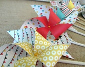 Paper Pinwheels Circus Favors Party Favors Birthday Favors 8 Twirling Pinwheels Birthday Favors Table Centerpiece Party Decoration