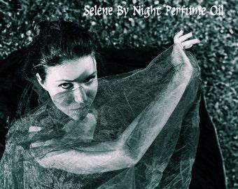 SELENE By NIGHT Perfume Oil - Orchids, Cypress, Dragon's Blood, Woods - GOTHIC perfume - Underworld, Dracula, Vampire Perfume