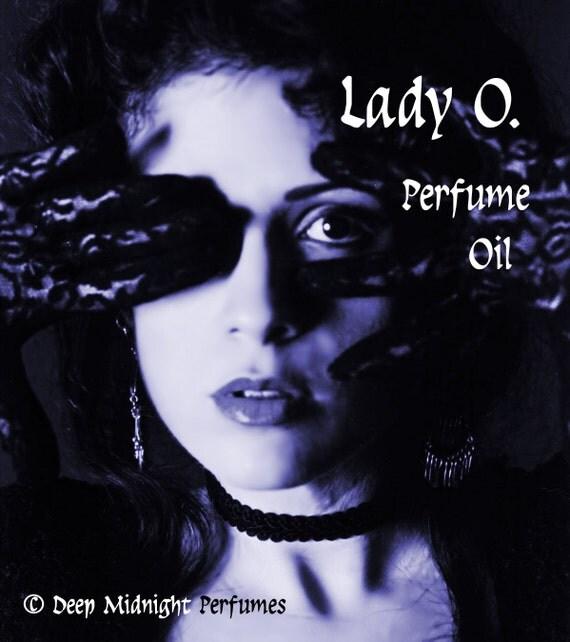 LADY O. Perfume Oil - Honey Musk, Cardamom, Spicy Leathery Pimento - Gothic Perfume - Victorian Perfume Oil